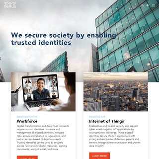 Identity solutions - Nexus Group