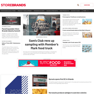 Home Page - Store Brands
