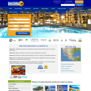 Mexico Vacation Rentals- Rocky Point, Cancun, & More