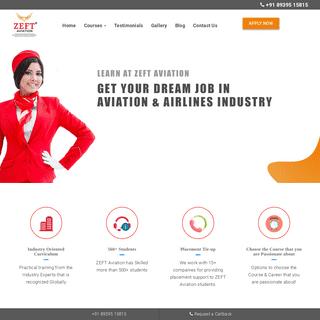 ZEFT Aviation - Air Hostess Training - Airport Management Courses - Aviation Training - Cabin Crew Academy - Ground Staff Traini