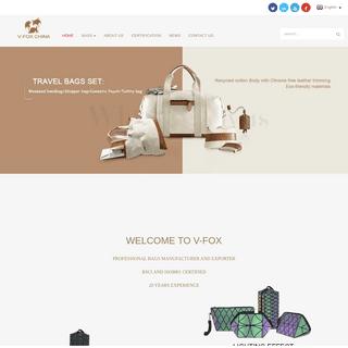 Cosmetic Bag, Storage Bag - V-FOX