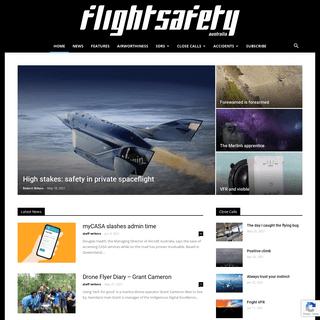 Flight Safety Australia - credible - informative - comprehensive