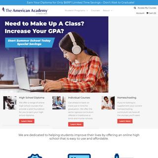 The American Academy - Online High School