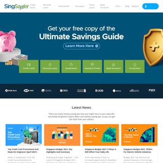 SingSaver - Personal Finance Comparison Site