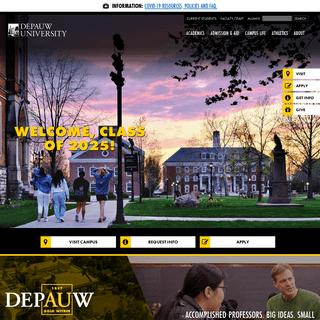 DePauw - DePauw University