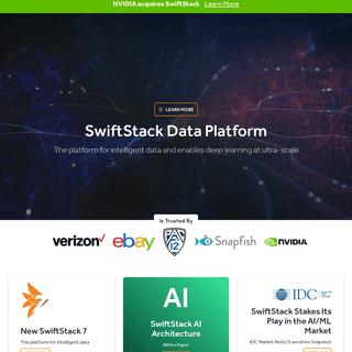 SwiftStack Data Platform