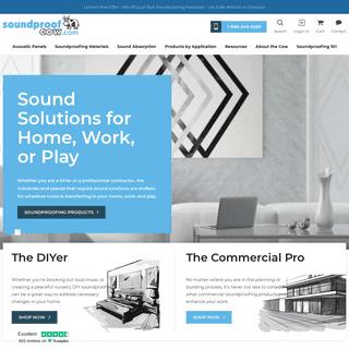 Premium Soundproofing & Acoustic Solutions - Sound Deadening Foam - Soundproof Cow