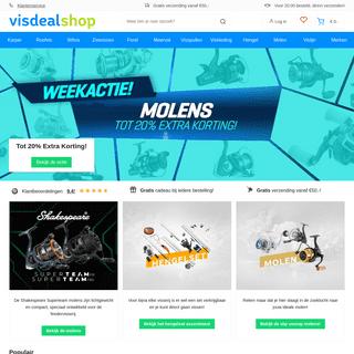 De beste merken kopen op Visdealshop.nl - Hengelsport