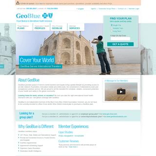 GeoBlue - International Travel Health Insurance