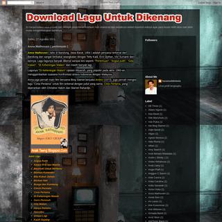 Download Lagu Untuk Dikenang (by Anak Taeng)- Anna Mathovani ( pertemuan )