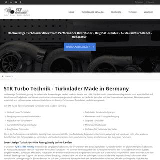 STK Turbo Technik - Turbolader Made in Germany