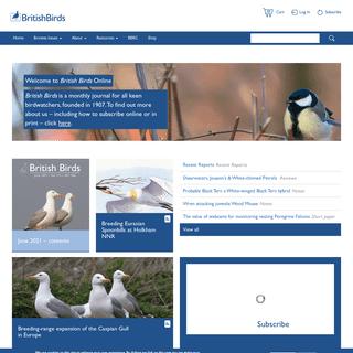 British Birds -