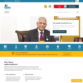 Multispeciality Hospitals in India - Apollo Hospitals for all Your Healthcare Needs