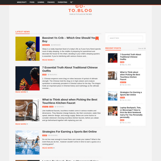 go-to.blog - Your go to place on the web