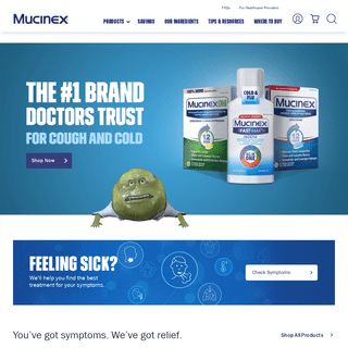 Mucinex® Cold & Flu Medicine