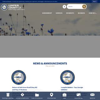Lumpkin County, GA - Official Website