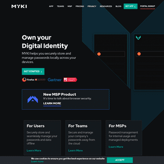 MYKI- Offline Password Manager and 2FA Authenticator