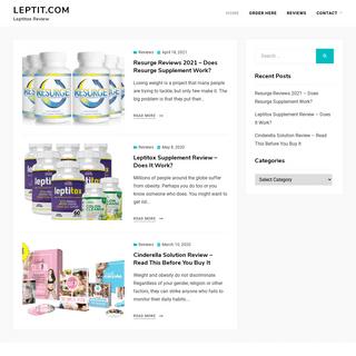 Leptit.com - Leptitox Review