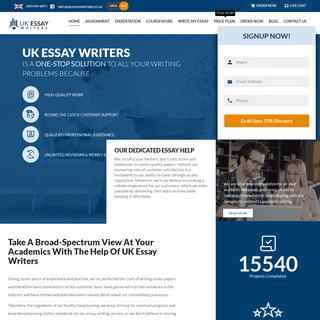 UK Essay Writers - Essay Help UK - Essay Writing Service