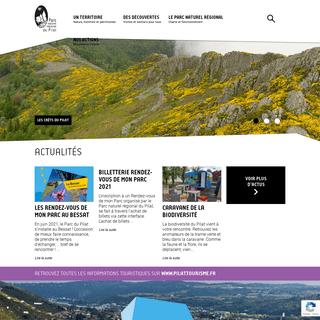 Parc naturel régional du Pilat - France - Auvergne-Rhone-Alpes