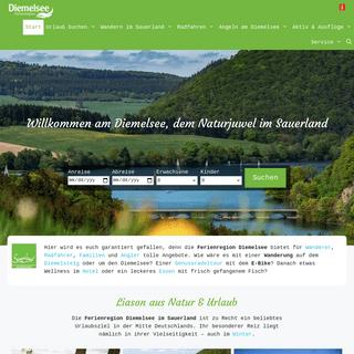 Ferienregion Diemelsee - Besuchen Sie die Perle des Sauerlandes