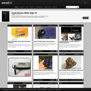 Weedist - A community of cannabis connoisseurs.