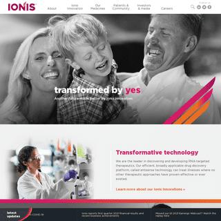 Home - Ionis Pharmaceuticals, Inc.