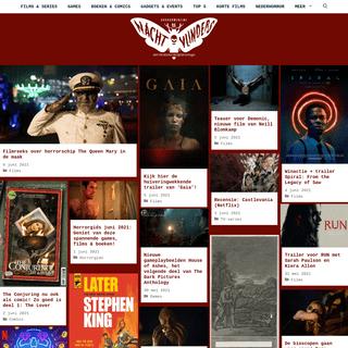 De Nachtvlinders - hét online horrormagazine van Nederland