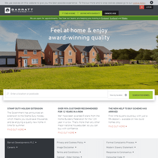 New Homes For Sale - Quality Home Builders - Barratt Homes