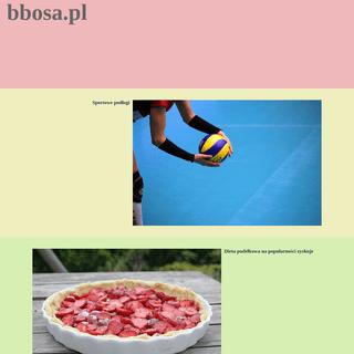 A complete backup of https://bbosa.pl