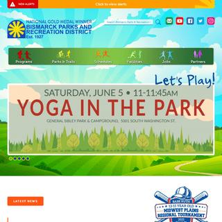Bismarck Parks & Recreation – Let`s Play!
