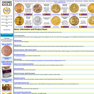 Gold Coins & Bars - Chards - Tax Free Gold