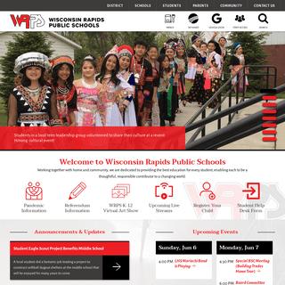 Wisconsin Rapids Public Schools - Wisconsin Rapids, WI, 54494