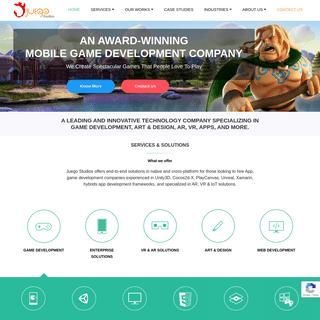 Gaming Studio India, USA, UK, Kuwait - Game Development Studio