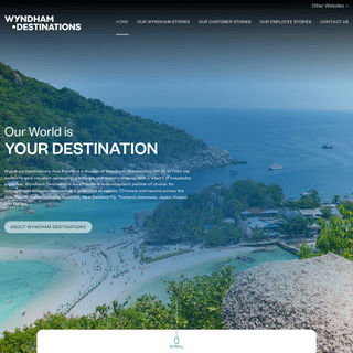 Wyndham Destinations - Vacation Ownership - Adventure awaits