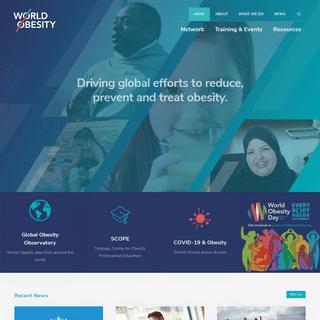 Homepage - World Obesity Federation