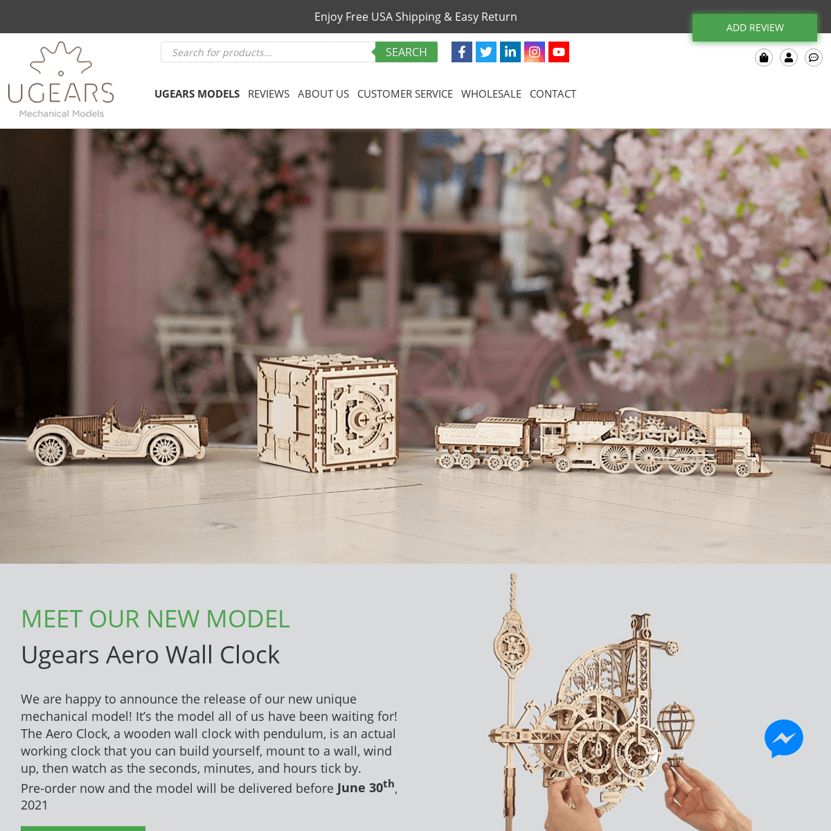 ᐈ UGears 2021 3D Wooden Mechanical Model kits and Puzzles in USA - UGears USA