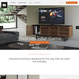 BDI - Designed for Modern Living - Modern Home & Office Furniture