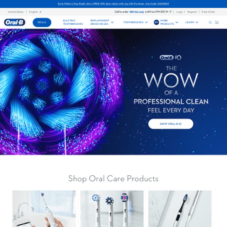Electric Toothbrushes, Floss, & Dental Health - Oral-B