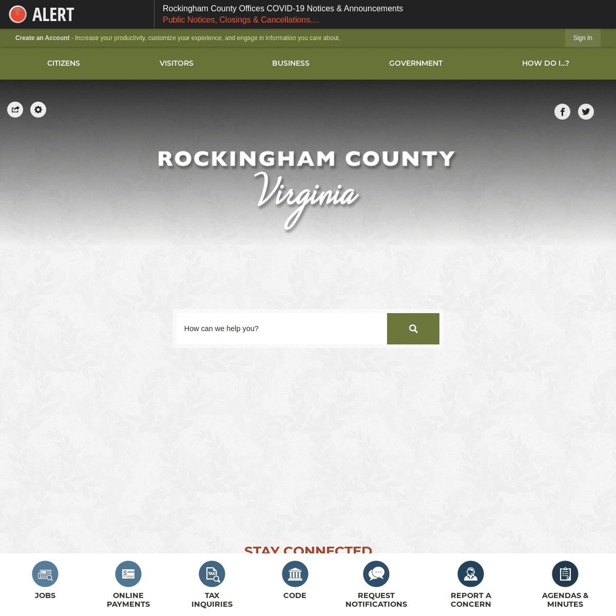 Rockingham County, VA - Official Website - Official Website