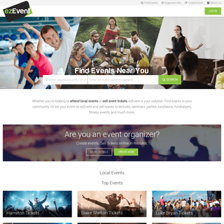 Sell Tickets Online with ezEvent – Your Event Management Solution