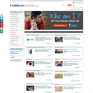 Kabbalah - Kabbalah Education & Research Institute - kabbalah.info