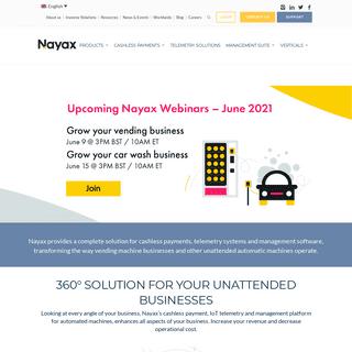 Nayax - Cashless Payment Solutions