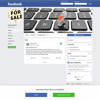 Kauf mich!!! - Home - Facebook