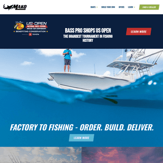 MAKO Saltwater Fishing Boats - Offshore and Skiff Center Consoles
