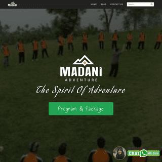 MADANI ADVENTURE - OUTBOUND SEMARANG - MADANI ADVENTURE