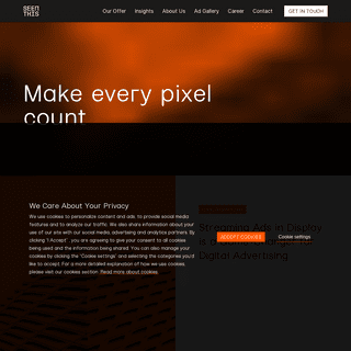 SeenThis - Make every pixel count