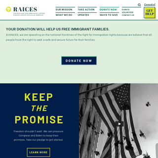 RAICES – Refugee and Immigrant Center for Education and Legal Services