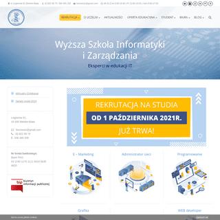 WSIZ BB - Wyższa Szkoła Informatyki i Zarządzania