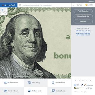 AccessBank - Sizin Yerli Avropa Bankınız